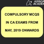 ICAI Announcement for CA Inter MCQs, CA Final MCQs, CA IPCC MCQs