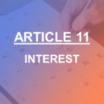 ARTICLE 11 INTEREST