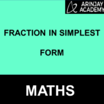 Fraction in Simplest Form