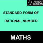 Standard form of Rational Number