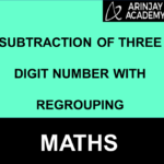 Subtraction of three digit number with regrouping