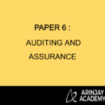 Paper 6 : Auditing and Assurance
