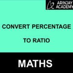 Convert Percentage to Ratio