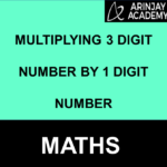 Multiplying 3 digit by 1 digit number