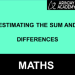 Estimating the sum and differences