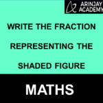 Write the Fraction Representing the shaded Figure