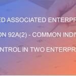Deemed Associated Enterprises