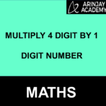 Multiply 4 digit by 1 digit number