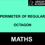 Perimeter of regular octagon