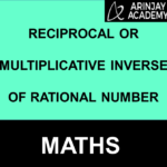 Reciprocal or Multiplicative Inverse of Rational Number