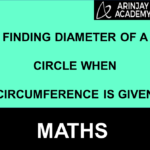 find diameter from circumference
