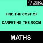 Find the cost of carpeting the room
