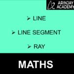 Line, Line segment, Ray