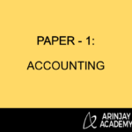 Paper 1 - Accounting