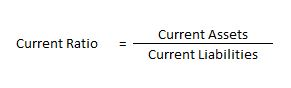 Current Ratio - Liquidity Ratio