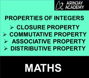 Properties of Integers   Closure, Commutative, Associative