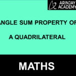 Angle Sum Property of a Quadrilateral