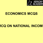 Economics MCQs - MCQ on National Income