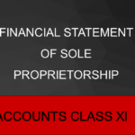 Financial Statement Of Sole Proprietorship