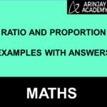 Ratio and Proportion Examples with Answers