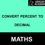 Convert Percent to Decimal