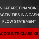 What Are Financing Activities In A Cash Flow Statement