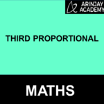 Third Proportional