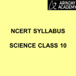 NCERT Syllabus Science Class 10