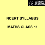 NCERT Syllabus Maths Class 11
