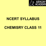 NCERT Syllabus Chemistry Class 11
