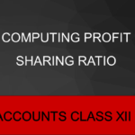Computing Profit Sharing Ratio