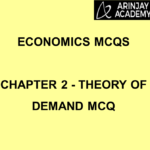 Economics MCQs Chapter 2 Theory of Demand MCQ