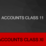 Accounts Class 11