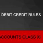 Debit Credit Rules