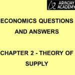 Economics Questions and Answers Chapter 2 Theory of Supply