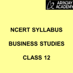 NCERT Syllabus Business Studies Class 12