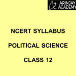 NCERT Syllabus Political Science Class 12