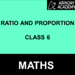 Ratio And Proportion Class 6