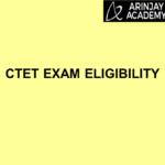 CTET Exam Eligibility