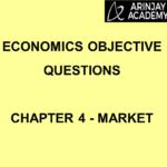 Economics Objective Questions - Chapter 4 - Market