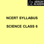NCERT Syllabus Science Class 6