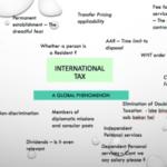 International Taxation Course