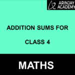Addition Sums For Class 4