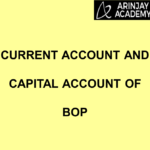 Current Account and Capital Account of Balance of Payment (BOP)
