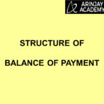 Structure of Balance of Payment