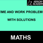 Time and Work Problems With Solutions