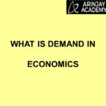 What is Demand in Economics