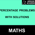 Percentage Problems With Solutions