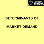 Determinants of Market Demand