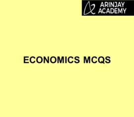 Economics MCQs | Arinjay Academy